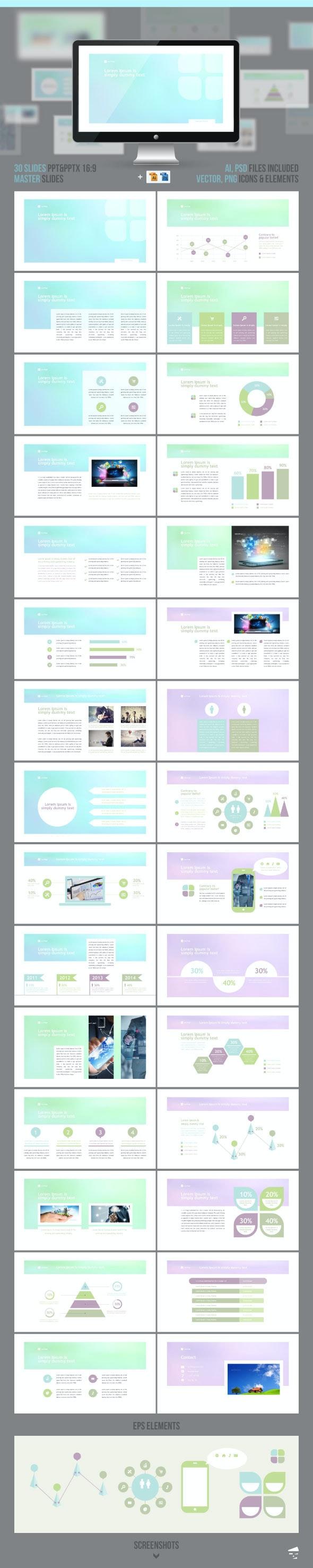 Presentation Application Developer - Business PowerPoint Templates
