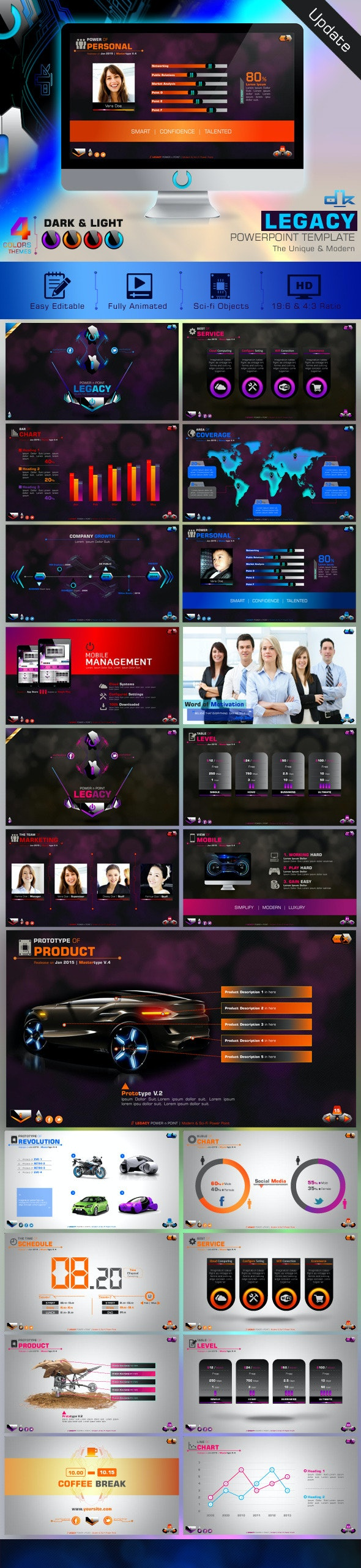Legacy Powerpoint - Creative PowerPoint Templates