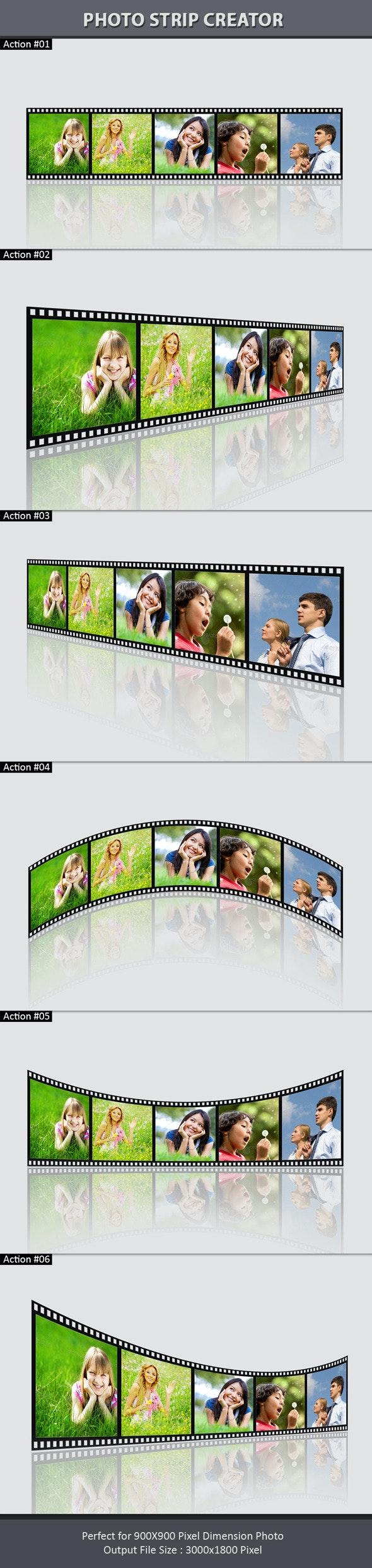 Photo Strip Creator - Utilities Actions