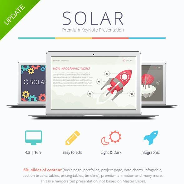 Solar Keynote Presentation Template