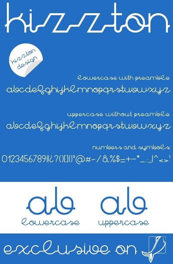 Kizzton Premium Font - Fonts