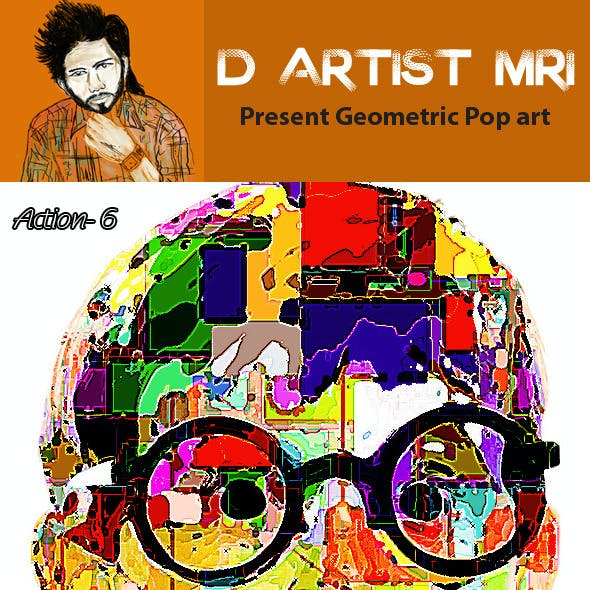 Geometric Pop Art