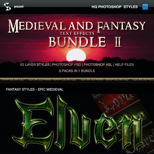 Fantasy Styles Bundle - Medieval Collection