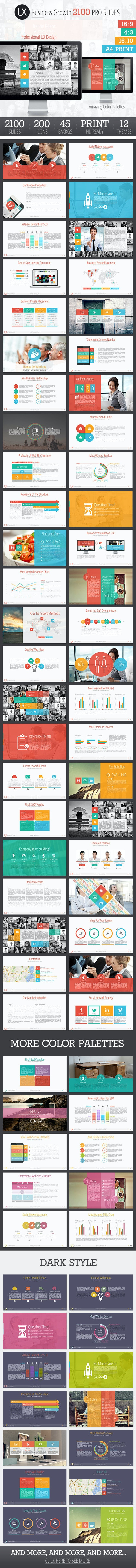 UX Design Presentation Template - Business Keynote Templates