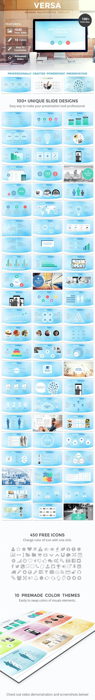 Versa PowerPoint Template - Business PowerPoint Templates