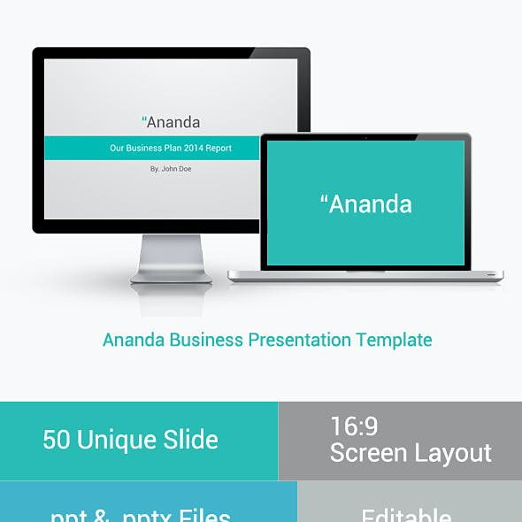 Ananda Powerpoint Business Presentation
