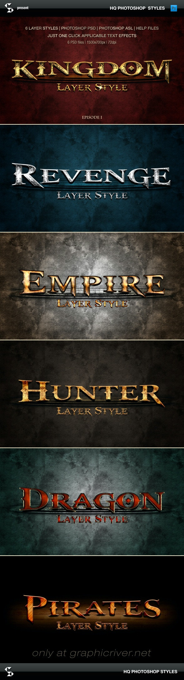 Epic Styles - Medieval Fantasy (episode 1) - Text Effects Styles