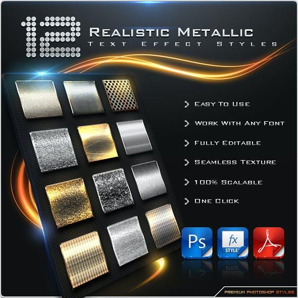 12 Realistic Metallic Styles