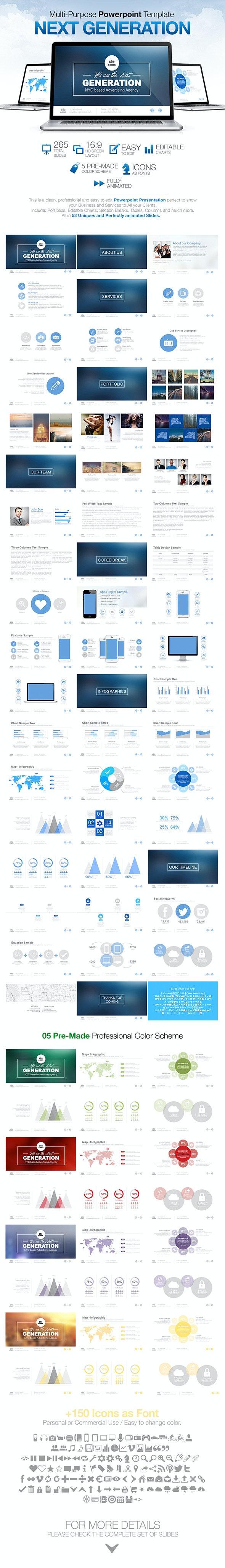 Next Generation - Powerpoint - PowerPoint Templates Presentation Templates