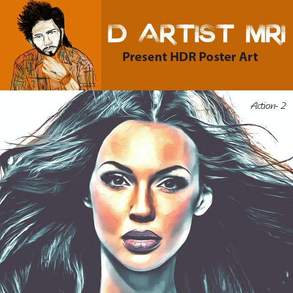 HDR Poster Color Art