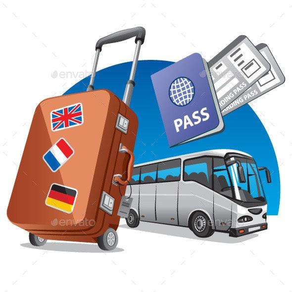 Bus Travel - Vectors