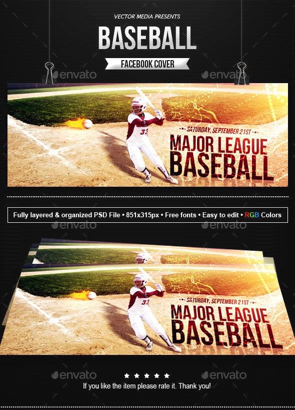 Baseball - Facebook Cover - Facebook Timeline Covers Social Media