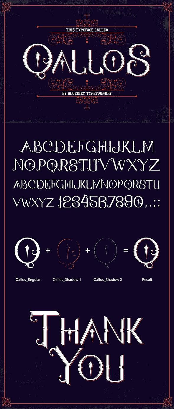Qallos Typeface - Fonts