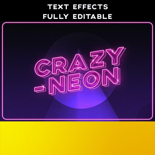 Text Effects | Vintage | 3D | Retro | Neon