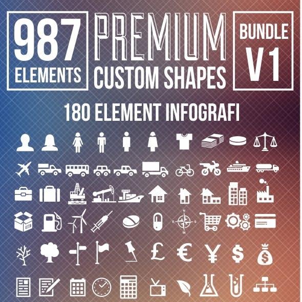 Premium Custom Shapes Bundle