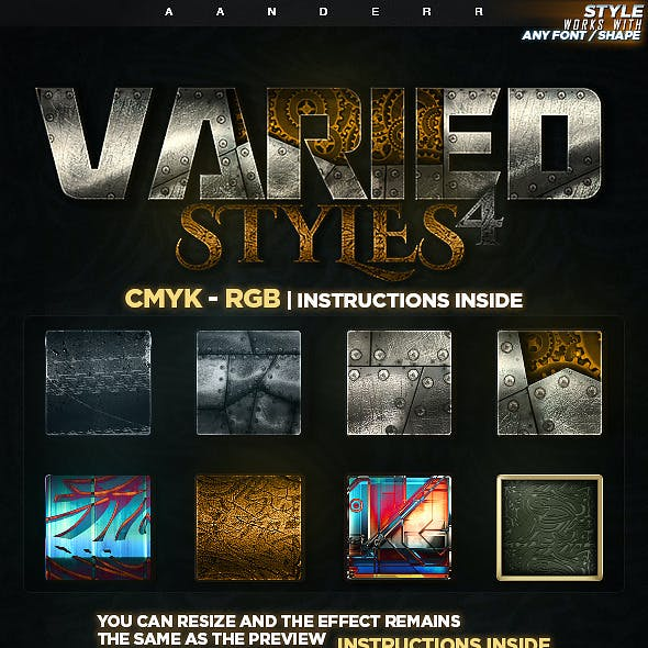 Varied Styles 4