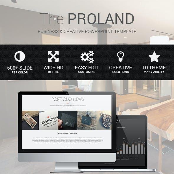 Proland - Powerpoint Multipurpose Template