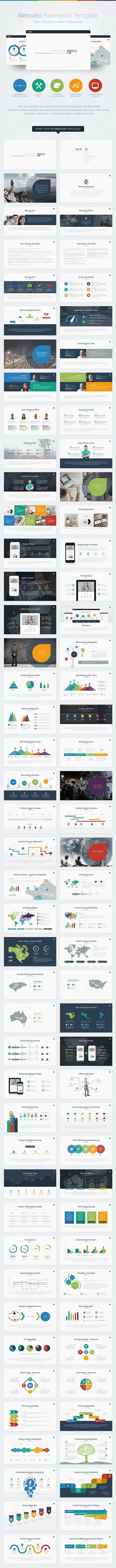 Mercurio PowerPoint Presentation Template