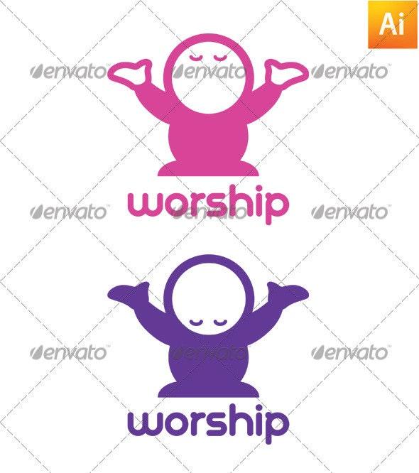 Worship Logo - Humans Logo Templates