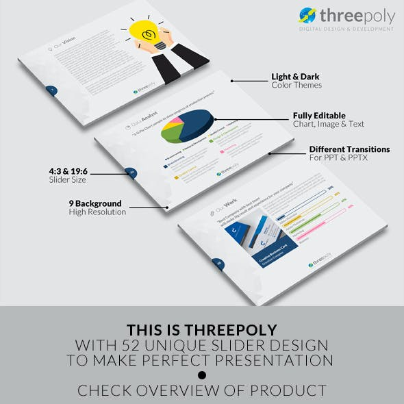 Slider Presentation Templates from GraphicRiver