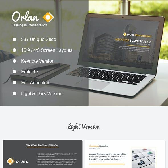 Orlan Keynote Business Presentation