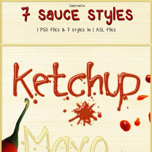 7 Sauce Styles