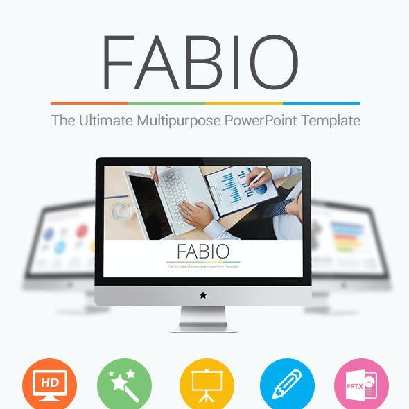 Fabio - Ultimate Multipurpose PowerPoint Template