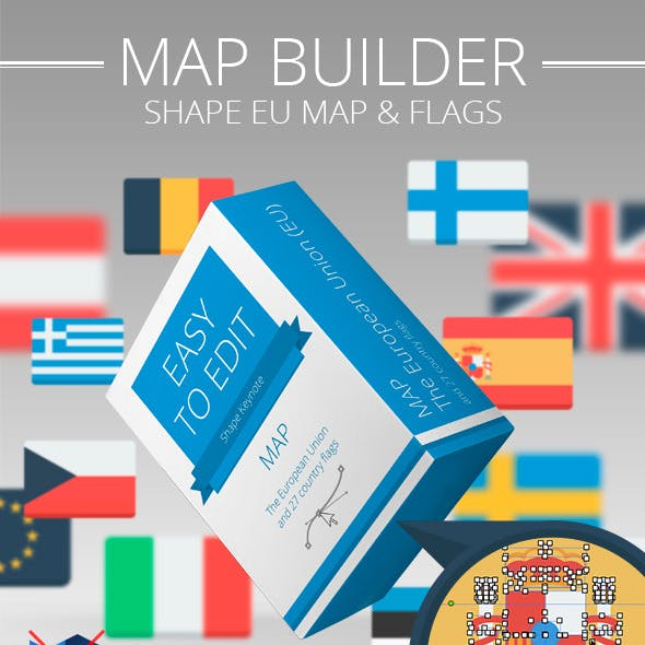 European Union map builder