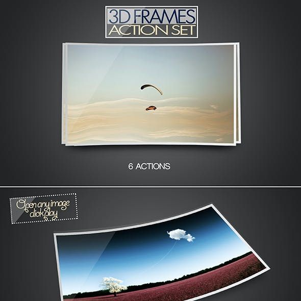 3D Frame Action Set