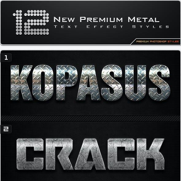 12 New Premium Metal Styles