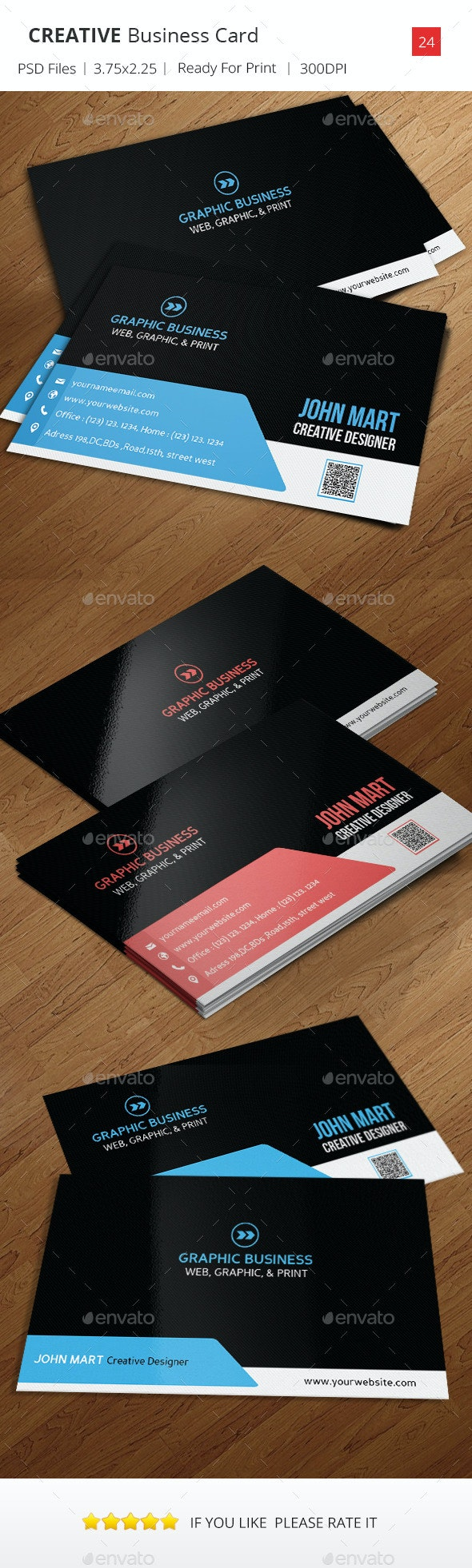 Creative Business Card v.24 - Creative Business Cards