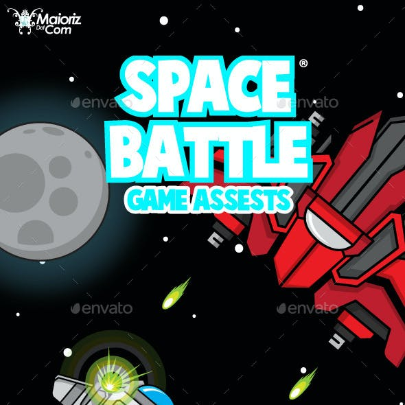 Spaceship Game Assets