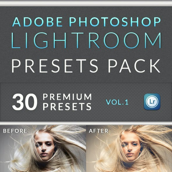 30 Lightroom Presets Pack / Vol. 1