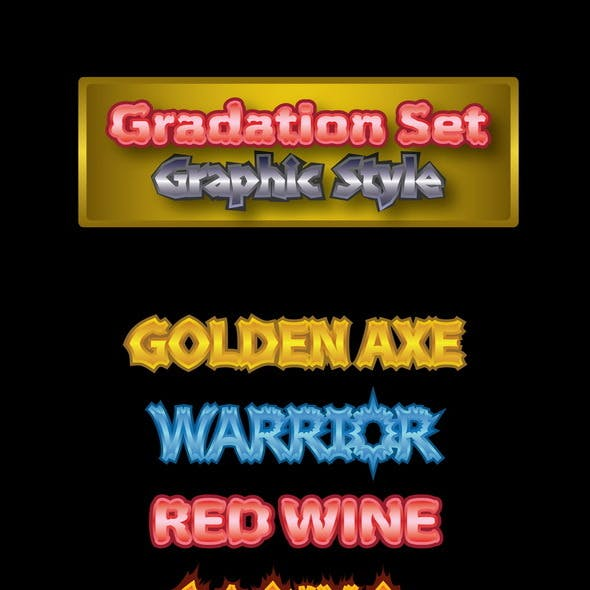 Gradation Graphic Styles