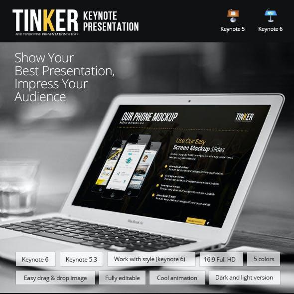 TINKER - Keynote Template