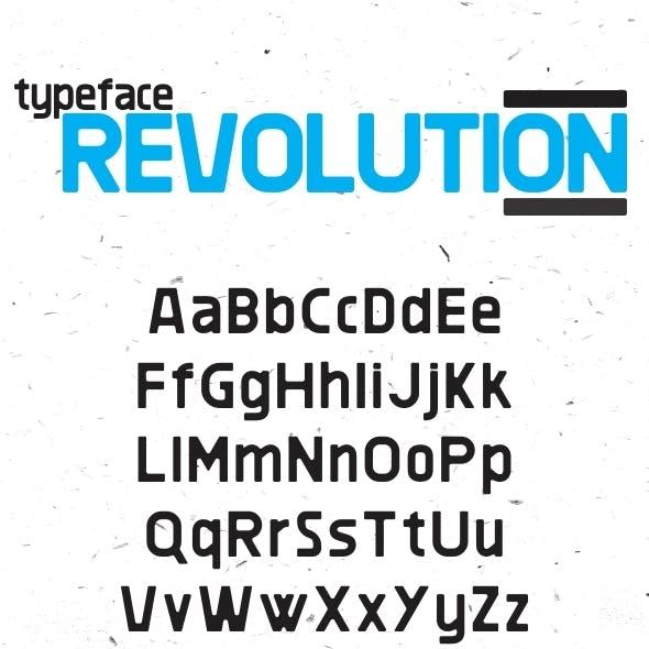 Revolution Typeface