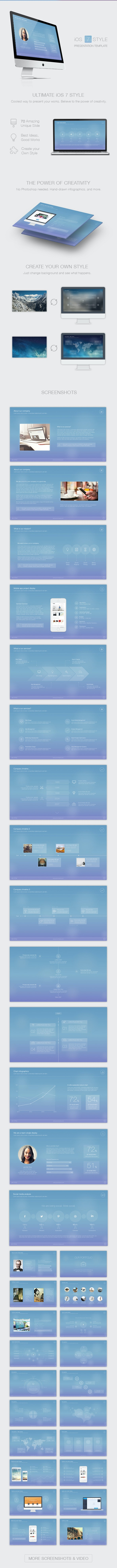7 Style Powerpoint Template - Creative PowerPoint Templates