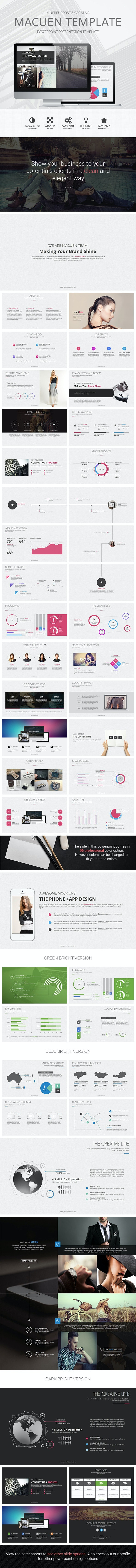 MACUEN - Ultimate Presentation Template - Business PowerPoint Templates