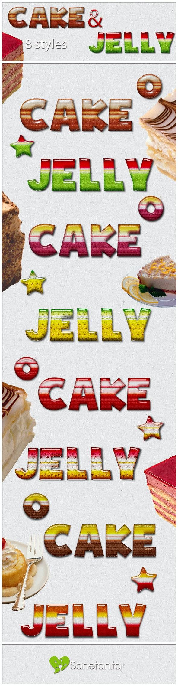 8 Dessert Styles - Text Effects Styles