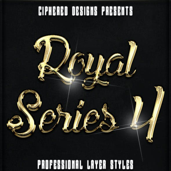 Royal Series 04 - Pro Text Effects