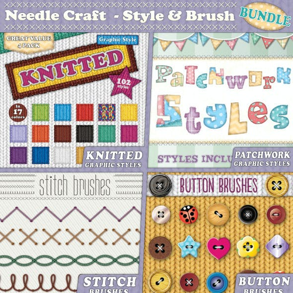 Needle Craft - Style & Brush Bundle