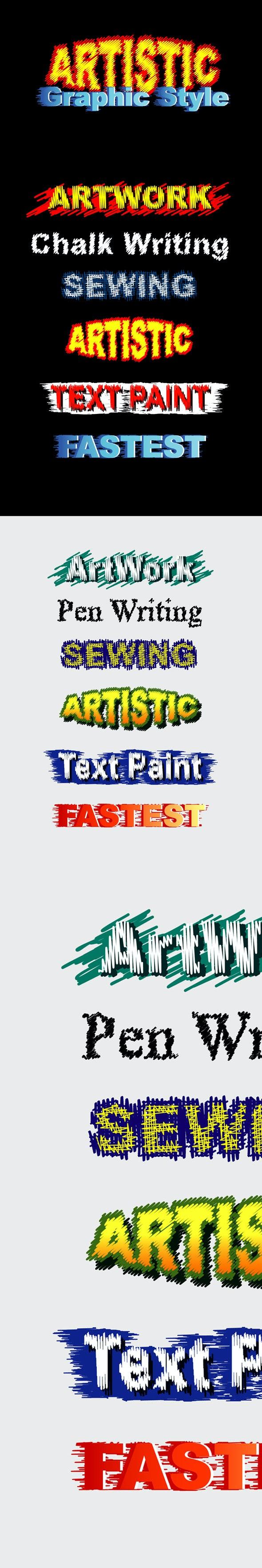 Artistic Graphic Styles - Styles Illustrator