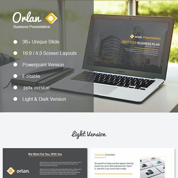 Orlan Powerpoint Business Presentation