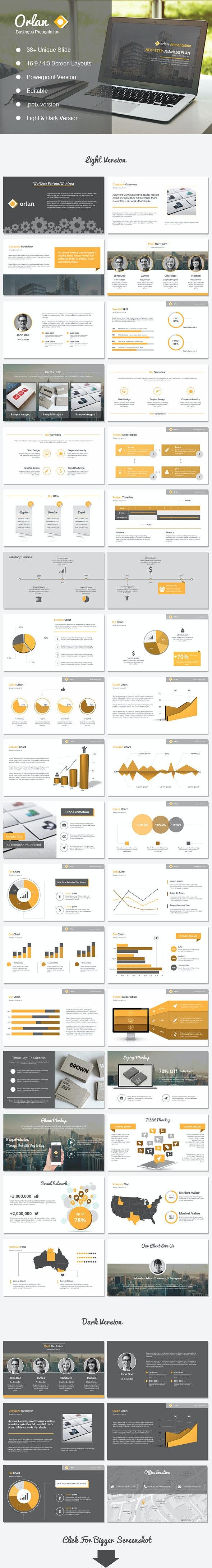 Orlan Powerpoint Business Presentation - Business PowerPoint Templates