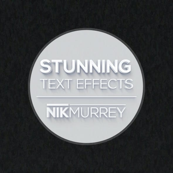 Stunning Text Effects