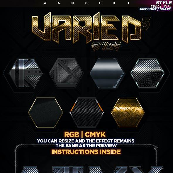 Varied Styles 5