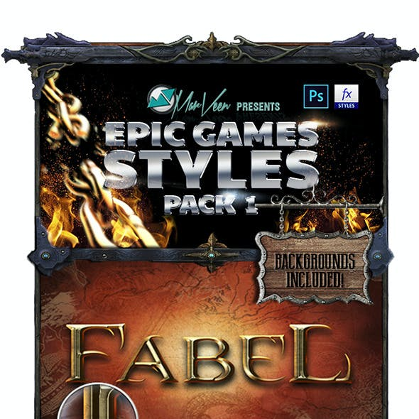 Epic Games Styles Pack 1