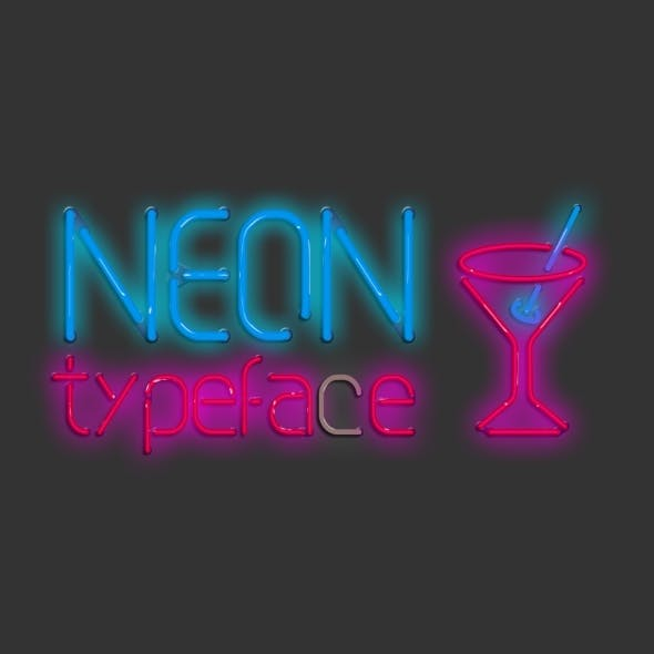 Neon Typeface & Signs