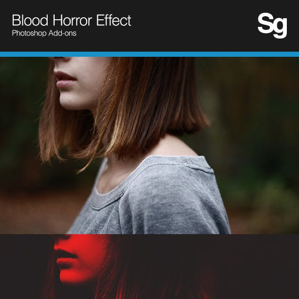 Blood Horror Effect