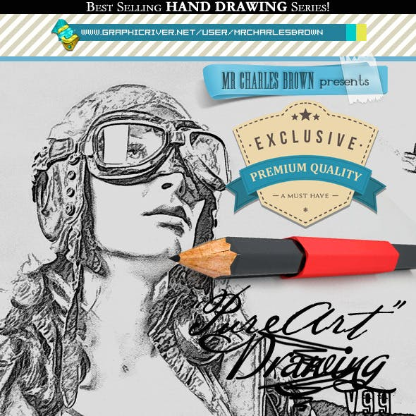 Pure Art Hand Drawing 99 – Police Most Wanted